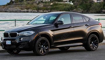 BMW черный матовый сатиновый