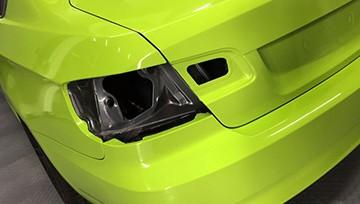 зеленая пленка на авто