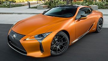 лексус матовый оранжевый