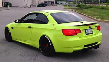 bmw зеленый яркий