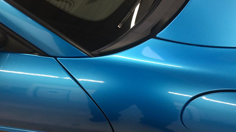 виниловая синяя пленка на авто