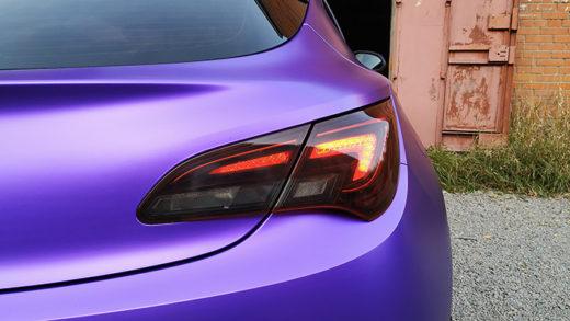 Тонировка фар Opel GTC